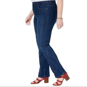 Style & Co Tummy Control Tapered Leg Jeans